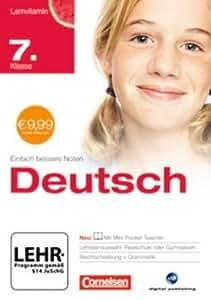 Lernvitamin - Deutsch 7. Klasse für Realschule und Gymnasium