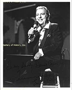 Tennessee Ernie Ford - Inscribed Photograph Signed - Autographed College Photos by Sports+Memorabilia