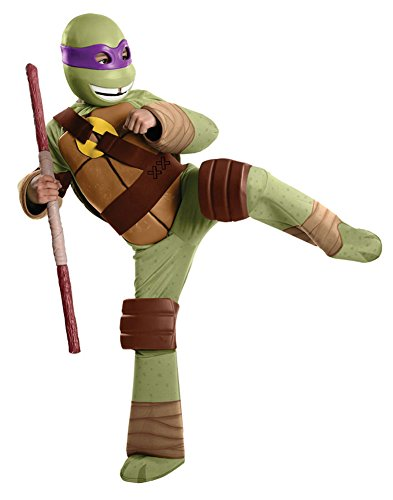 Boys - Tmnt Donatello Deluxe Child Costume Sm Halloween Costume