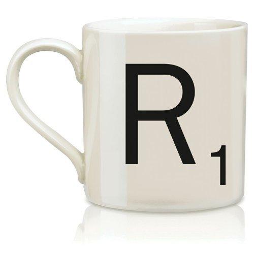 Scrabble Mug - Letter R (R Coffee Mug compare prices)