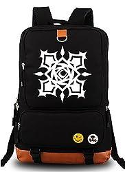 Siawasey Vampire Knight Anime Cartoon Canvas Backpack Shoulder School Bag