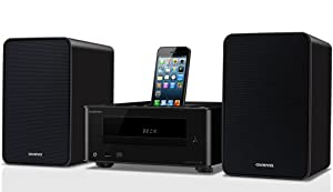 Onkyo CS-255 Dock and CD Mini System for iPhone 5