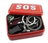 便利 緊急 サバイバル ツール セット BOX サバイバルシート付き