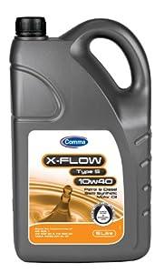 Comma XFS5L 5L X-Flow Type S Semi Synthetic 10W40 Motor Oil