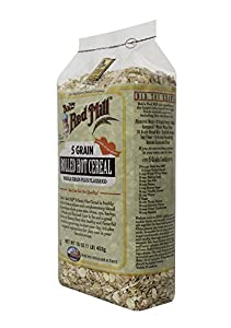 Bob's Red Mill Cereal 5 Grain Rolled, 16-Ounce (Pack of 4)