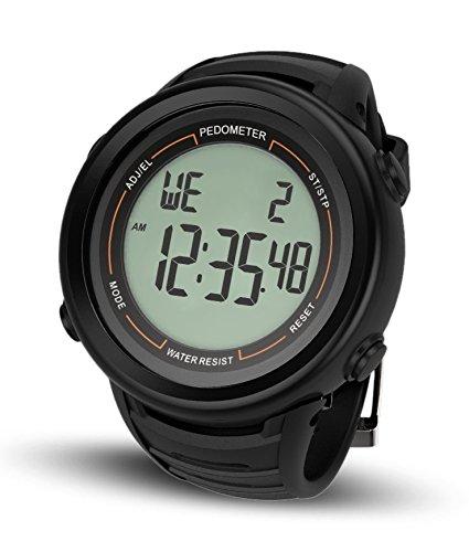 HealthSense PD-102 Smart 3D Pedometer Watch