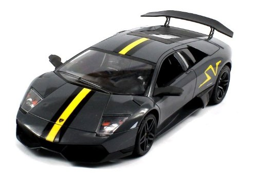 Licensed Lamborghini Murcielago Lp670-4 Sv Electric Rc Car 1:18 Dx Rtr (Colors May Vary) Authentic Body Styling
