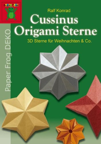 cussinus origami sterne 3d sterne f r weihnachten co. Black Bedroom Furniture Sets. Home Design Ideas