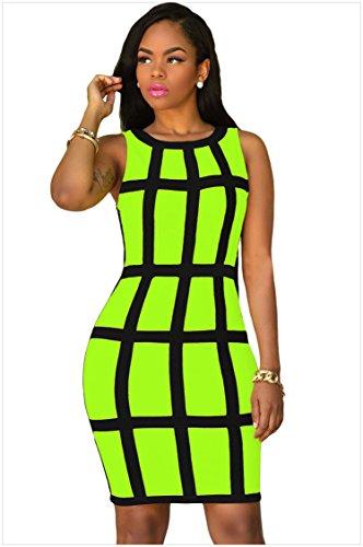 MEINICE -  Abito  - Donna verde Green Small