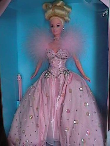 Pink Ice Barbie, Limited Edition, 1st in a Series, 1996