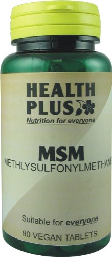 Health Plus MSM Joint Health Supplement 1000mg (90 Tablets)