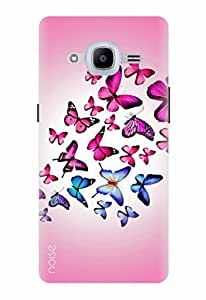 Noise Designer Printed Case / Cover for Samsung Galaxy J2 Pro - 6 (New 2016 Edition) / Nature / Butterflies Design (GD-284)
