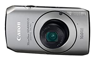 Canon PowerShot SD4000IS 10 MP CMOS Digital Camera with 3.8x Optical Zoom and f/2.0 Lens (Silver)