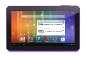 Ematic EGS102PR 10.0-Inch 4GB Genesis Prime XL Multi-Touch Tablet (Purple)