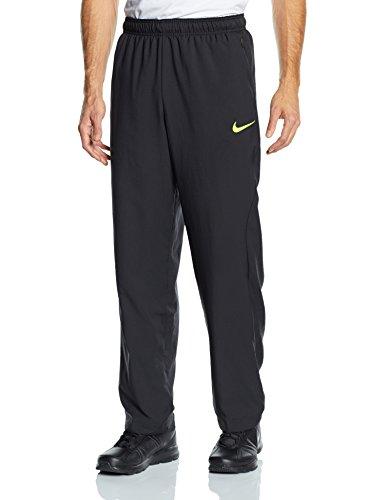 Nike, Pantaloni corti sportivi Uomo HYPERSPEED, Nero (Black/Volt), XXL