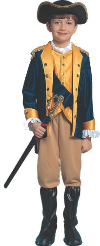 Patriot Boy Child Halloween Costume Size 8-10 Medium