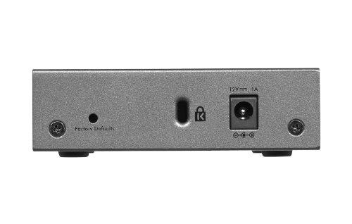 Administrador Web Gigabit NETGEAR ProSAFE GS105Ev2 5-Port