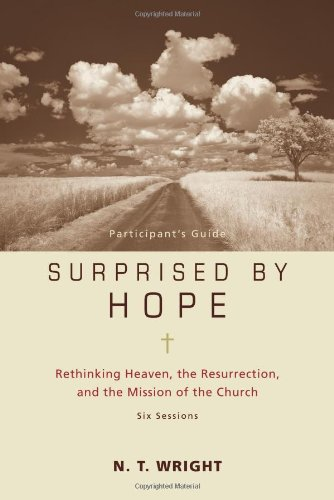 Download Surprised by Hope Participant's Guide: Rethinking Heaven, the Resurrection, and the Mission of the Church(No Dvd)