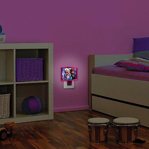 Home Kids Bedroom Disney Frozen LED Wall Art Night Light