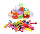 Toy - Naice 1000 Wasserbomben/Wasserballon als Ersatz von Bunch O Ballon luftballons Set (inkl.1000 luftballons +1000 Gummib�nder+1 F�llen Instrument DIY Spielzeug)
