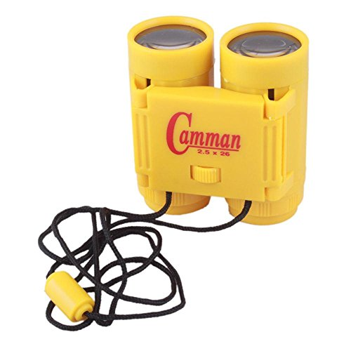 2.5 X 26 Binoculars Mini Children Telescopes Portable Sports Outdoor Hunting Tools Toy Yellow