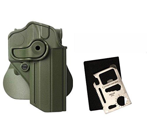 IMI Defense Z1270 Rotate Holster Jericho/Baby-Eagle steel frame 9mm/.40, Sarsilmaz Kilinc Mega 2000, Canik 55 Shark Right Hand, OD Green