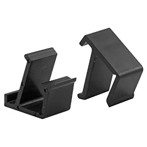 prime line products l 5684 screen frame retainer clips top and bottom black vinyl pack of 4. Black Bedroom Furniture Sets. Home Design Ideas