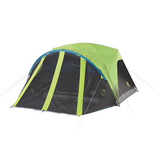 Coleman Carlsbad 4-Person Dome Dark Room Tent with Screen Room (Coleman Instant Dome 4 compare prices)