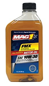 MAG1 61788-pk6 Full Synthetic 10W30 SM Motor Oil - 32 oz., (Pack of 6) by MAG1