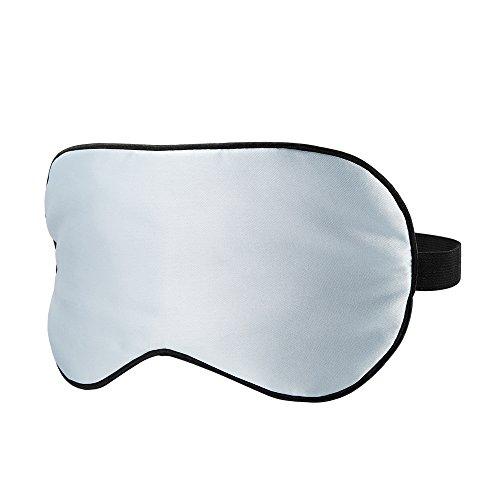 PLEMO 睡眠アイマスク 軽量・究極の柔らかシルク質感 超ソフト 横向き寝 短時間睡眠 快眠 睡眠 旅行に最適 (フリーサイズ ブルー) EM-459