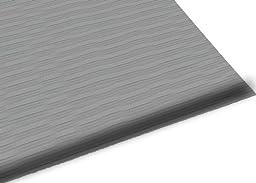 Guardian Air Step  Anti-Fatigue Floor Mat, Vinyl, 2\'x3\', Grey