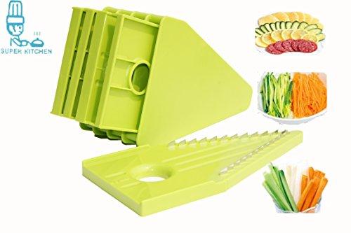 Ss 18 8 Top Slicer Bpa And Phthalate Free Plastic Safe Design Super Kitchen Mandoline Slicer