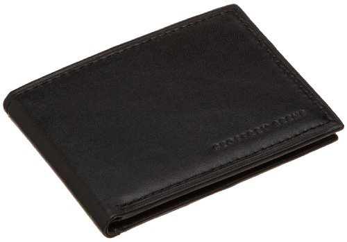 Geoffrey Beene Men's Mirage Slim Passcase Wallet, Black