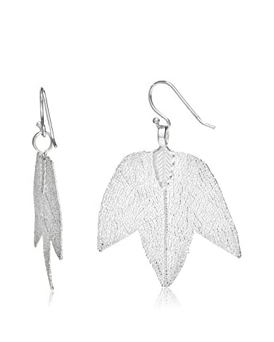 Ana Natural Leaves Orecchini Argento
