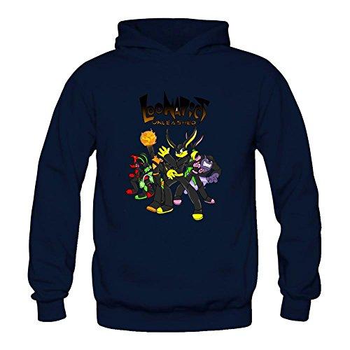 Kettyny Women's Loonatics Unleashed Sweatshirts Hoodie (Lexi Bunny)