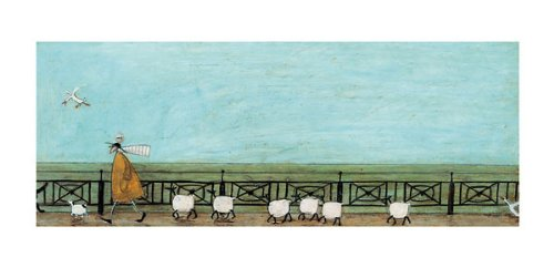 Moses Follows That Picnic Basket Sam Toft Contemporary Humor Print Poster 20x40