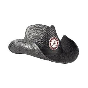NCAA Alabama Crimson Tide Black Cowboy Hat