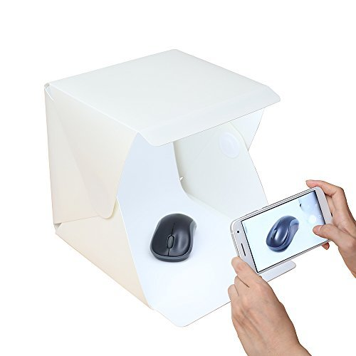 Twone® Folding Portable Lightbox Studio - Take Pictures Like a Pro on the Go with a Smartphone or DSLR Camera (Picture Taking compare prices)