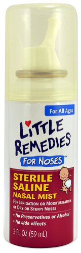 Little Remedies Little Noses Saline Mist - 2 oz
