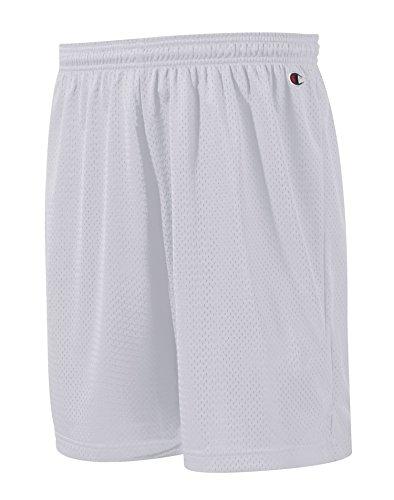 Champion Adult Long Poly Mesh Shorts, Athletic Royal, Medium Medium Casual Shorts