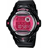 Casio Glossy Baby-G Ladies Digital Watch BG169R-1BCR