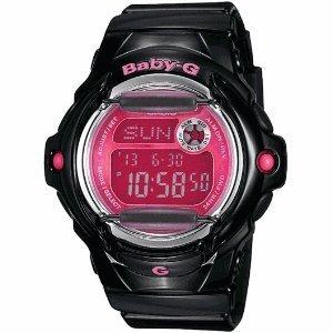 Casio Glossy Baby-G Ladies Digital Watch BG169R-1BCR