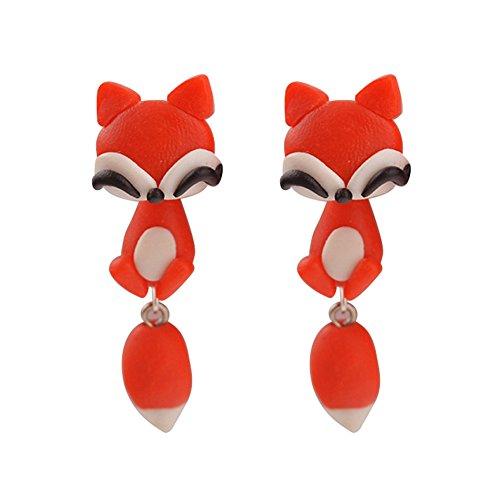 oumosi-1pair-cute-polymer-clay-earrings-women-animal-fimo-piercing-stud-earrings-jewelry-fox