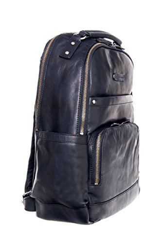 Unisex Logan Leather Backpack