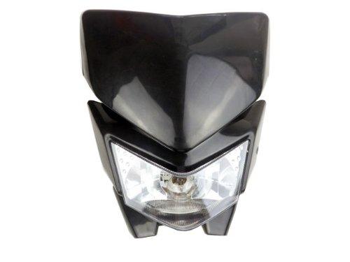 Black Dirt Bike Headlight Fairing for Kawasaki KX KLX 65 85 100 110 140 250 450 Yamaha YZ TTR WR 125 450 Honda CRF50F CRF70F CRF80F CRF100F CRF150F Suzuki RM RMX RMZ DRZ 65 85 250 450Z KTM EXC XC MXC 250 450 525 530 (Dirt Bike Headlight compare prices)