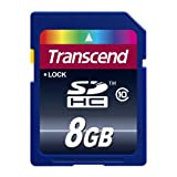 Transcend 8GB SDHC Speicherkarte Ultimate Class 10