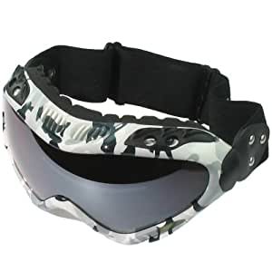 POLARLENS PG3 Ski Goggles, Snowboard Goggles, Helmet Compatible Ski Goggles with a Great Look and Performance by European Designer
