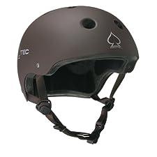 Protec Classic Helmet (Matte Charcoal, Medium)