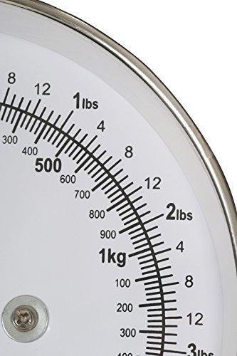 Premier Housewares Balance de cuisine style rétro Bol en inox Violet 5 kg