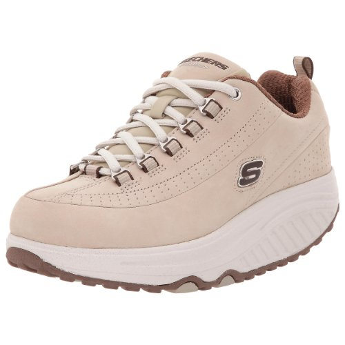 Skechers Women's Shape Ups Optimize Beige/Brown 11801 STBR 5 UK